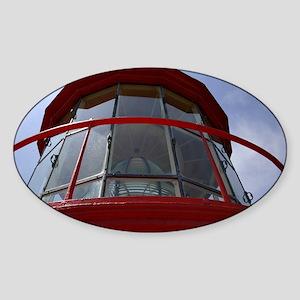 lighthouse Sticker (Oval)