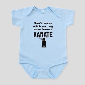 My Nana Knows Karate Body Suit
