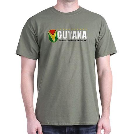 Green Guyana Stars T-Shirt