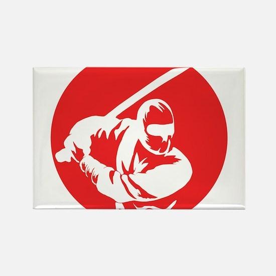 Cute Ninja Rectangle Magnet (10 pack)