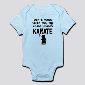 My Uncle Knows Karate Body Suit