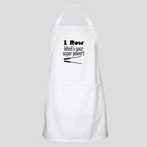 I Row What's Your Super Power? Apron