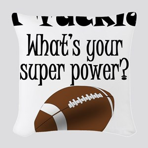 I Tackle (Football) What's Your Super Power? Woven