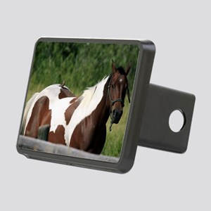 Horse with bird Rectangular Hitch Cover