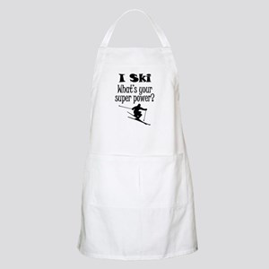 I Ski What's Your Super Power? Apron
