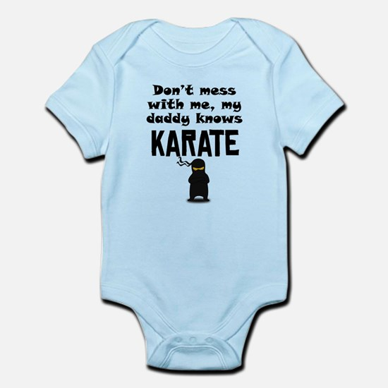 My Daddy Knows Karate Body Suit