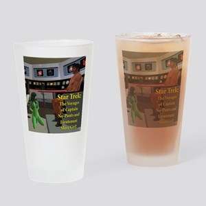 star-trek-no-pants Drinking Glass
