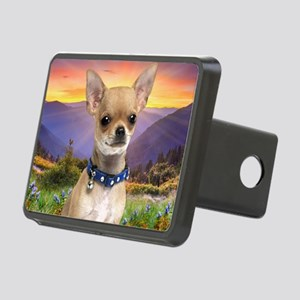 Chihuahua Meadow (blanket) Rectangular Hitch Cover