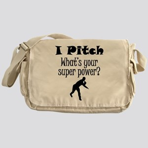 I Pitch (Baseball) What's Your Super Power? Messen