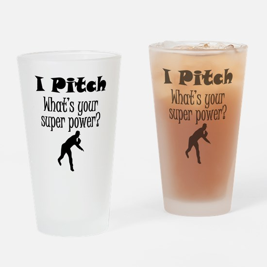 I Pitch (Baseball) What's Your Super Power? Drinki