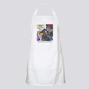 Why Don't You Look At Me That Way? Apron