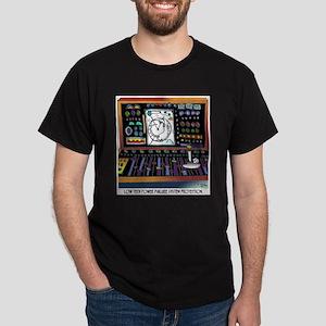 Low Tech Power Failure Back Up Dark T-Shirt