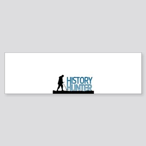 Metal Detecting History Hunter Bumper Sticker