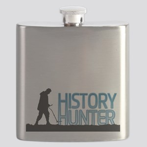 Metal Detecting History Hunter Flask