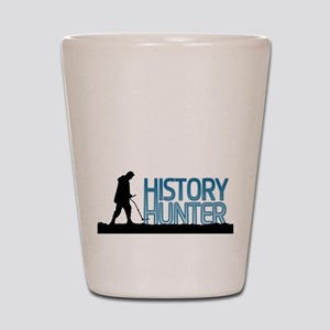 Metal Detecting History Hunter Shot Glass