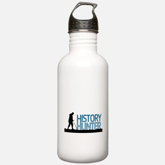Metal Detecting History Hunter Sports Water Bottle