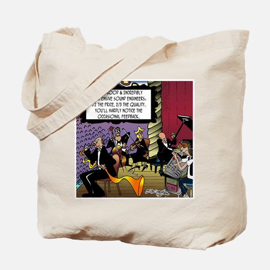 Incredibly Inexpensive Sound Engineers Tote Bag