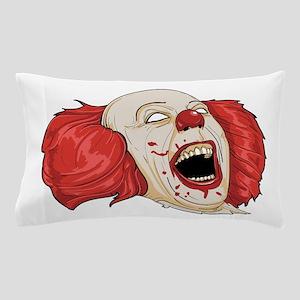 halloween evil clown Pillow Case