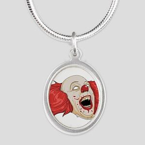 halloween evil clown Necklaces