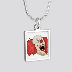 halloween evil clown Necklaces
