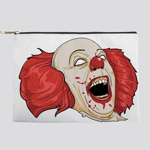 halloween evil clown Makeup Pouch