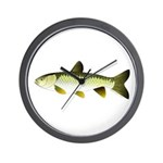 Grass Carp Wall Clock