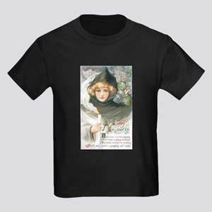 Lady in Black Halloween T-Shirt