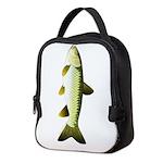 Grass carp c Neoprene Lunch Bag