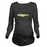 Grass carp c Long Sleeve Maternity T-Shirt