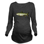Grass carp c Long Sleeve Maternity T-Shirt