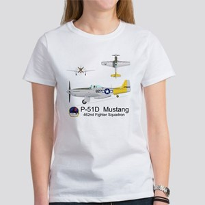 P-51 Mustang 462nd Fighter Squadro Women's T-Shirt