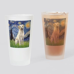 StarryNight (T) - YellowLab7 Drinking Glass