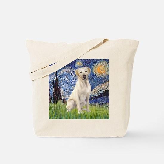 StarryNight (T) - YellowLab7 Tote Bag