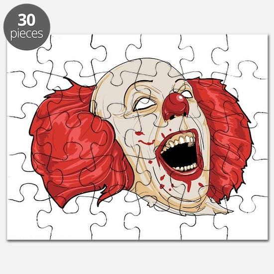 halloween evil clown Puzzle