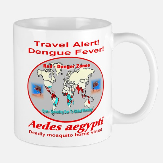 Dengue Fever Travel Alert Mug