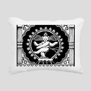 Shi-Bear Rectangular Canvas Pillow