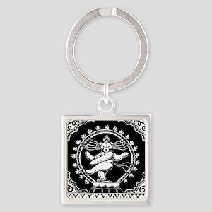 Shi-Bear Square Keychain