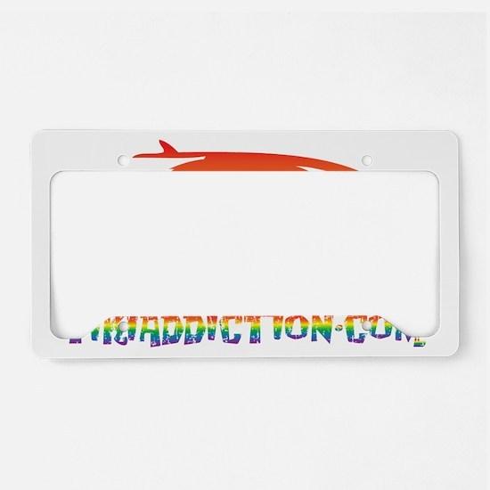 SURF BUG - PRIDE License Plate Holder