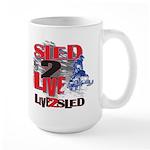 Sled-2-LIVE-Sled-Live-to-Sled Mugs