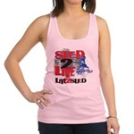 Sled-2-LIVE-Sled-Live-to-Sled Racerback Tank T