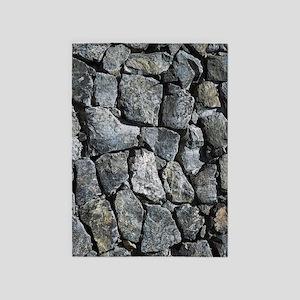 stone texture decorative 5'x7'Area Rug