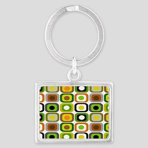 MCM 222 squares BLANKET Landscape Keychain
