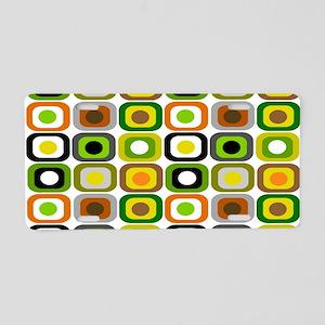 MCM 222 squares BLANKET Aluminum License Plate