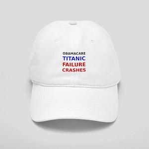 Obamacare Titanic Failure Crashes Baseball Cap