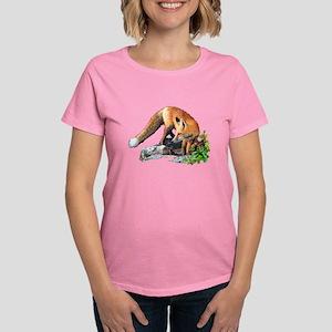 Red fox Women's Dark T-Shirt