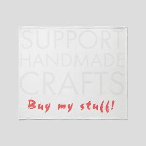 Support handmade light Throw Blanket