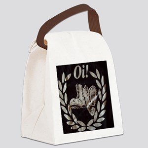 Oi Boots and Crest OiSKINBLU Canvas Lunch Bag