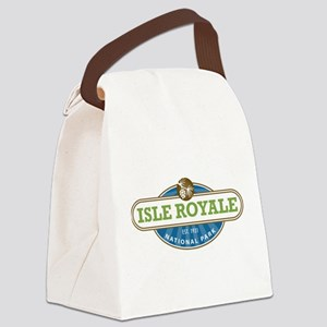 Isle Royale National Park Canvas Lunch Bag