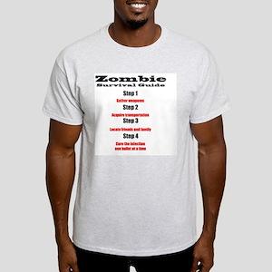 Zombie survival rules Zombie hunter  Light T-Shirt