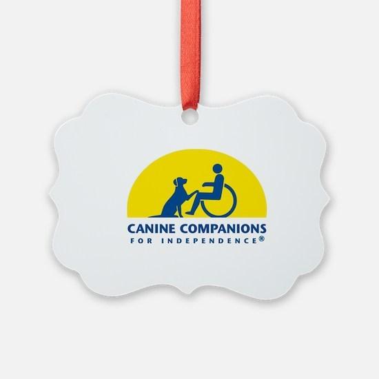 Color Canine Companions Logo Ornament